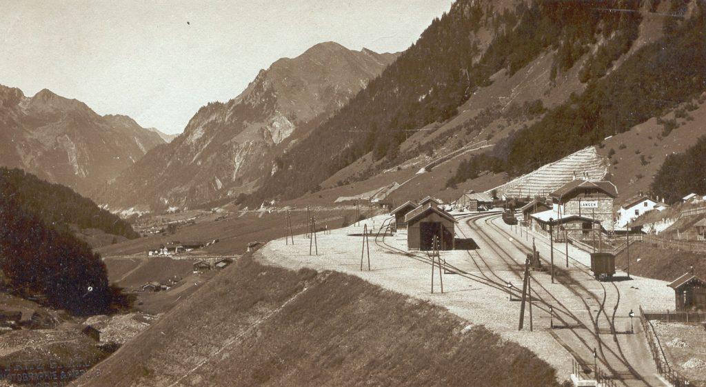 arlbergbahn klostertal